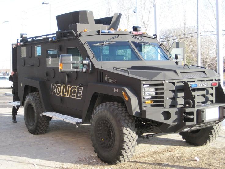 Ottawa Police's Lenco G3 BearCat